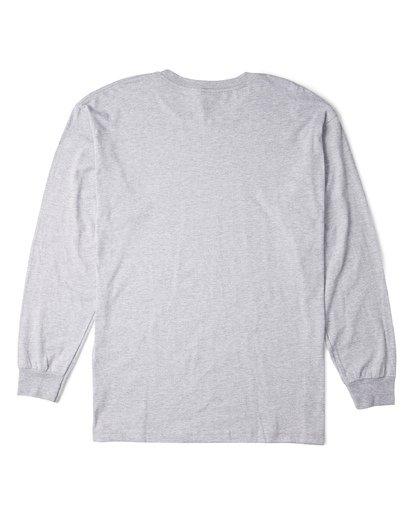 3 Stacked Essential Long Sleeve T-Shirt Grey M470WBSE Billabong