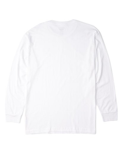 4 Stacked Essential Long Sleeve T-Shirt White M470WBSE Billabong