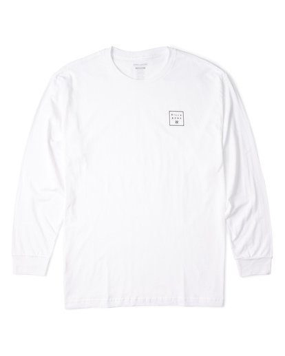 3 Stacked Essential Long Sleeve T-Shirt White M470WBSE Billabong
