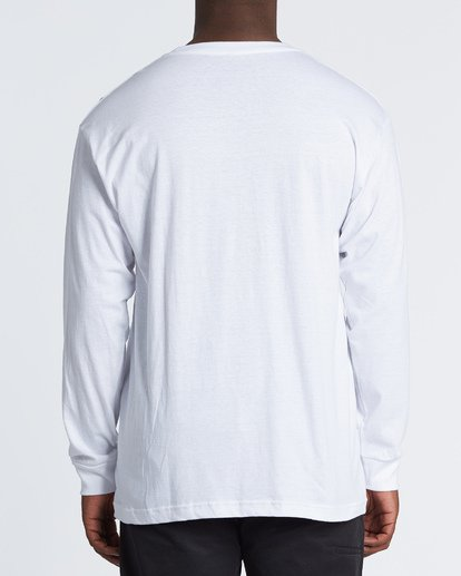 2 Stacked Essential Long Sleeve T-Shirt White M470WBSE Billabong