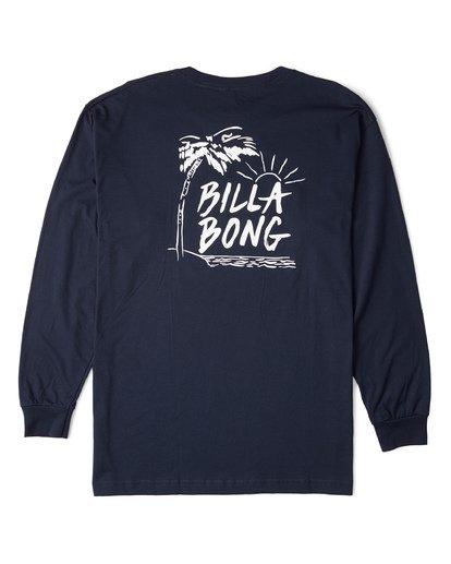4 Sun Up Long Sleeve T-Shirt Blue M470WBSU Billabong