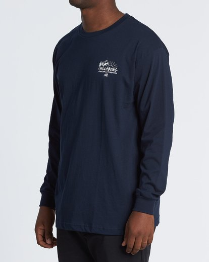 1 Sun Up Long Sleeve T-Shirt Blue M470WBSU Billabong