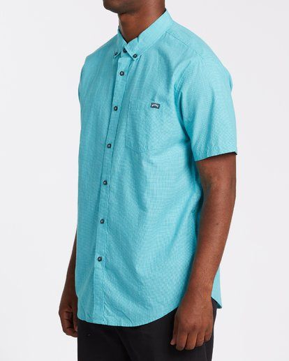1 All Day Short Sleeve Shirt Green M5001BAL Billabong