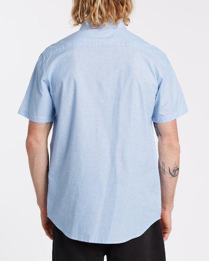 2 All Day Short Sleeve Shirt Blue M5001BAL Billabong