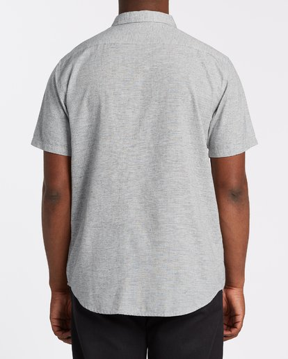 2 All Day Short Sleeve Shirt Grey M5001BAL Billabong