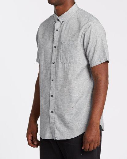 1 All Day Short Sleeve Shirt Grey M5001BAL Billabong
