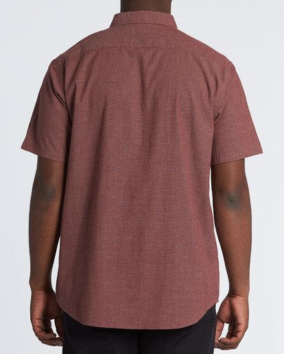 2 All Day Short Sleeve Shirt Orange M5001BAL Billabong