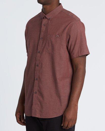 1 All Day Short Sleeve Shirt Orange M5001BAL Billabong