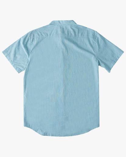 4 All Day Short Sleeve Shirt Blue M5003BAL Billabong