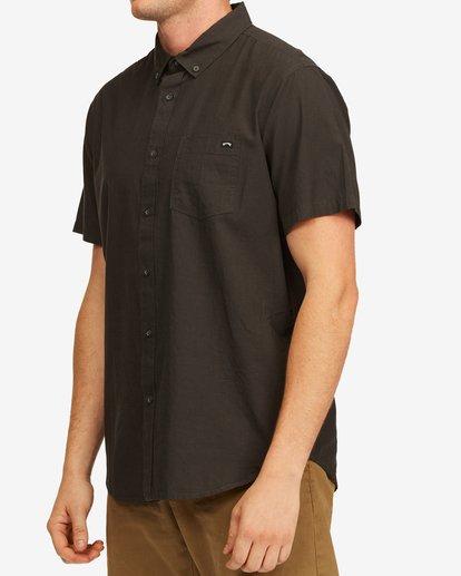 1 All Day Short Sleeve Shirt Black M5003BAL Billabong