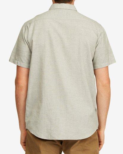 2 All Day Short Sleeve Shirt Grey M5003BAL Billabong
