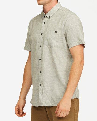 1 All Day Short Sleeve Shirt Grey M5003BAL Billabong