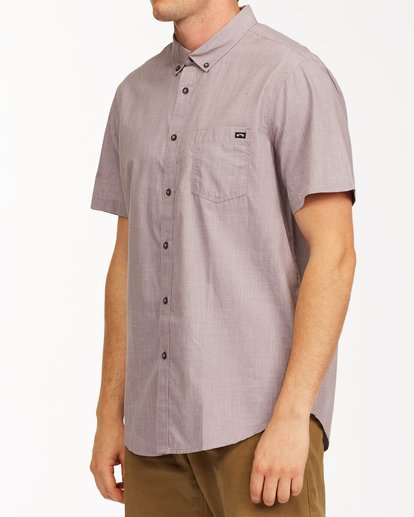 1 All Day Short Sleeve Shirt Purple M5003BAL Billabong