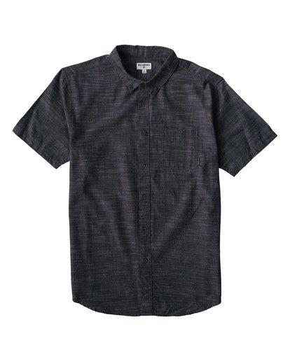 0 All Day Short Sleeve Shirt Black M500TBAL Billabong