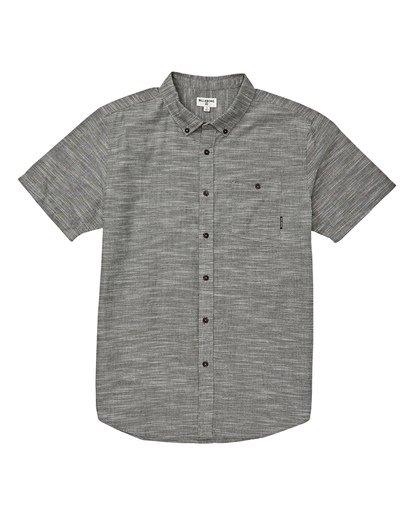 4 All Day Short Sleeve Shirt Brown M500TBAL Billabong