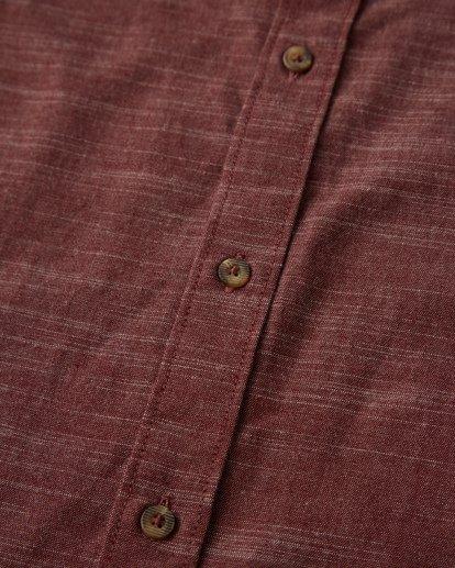2 All Day Short Sleeve Shirt Red M500TBAL Billabong