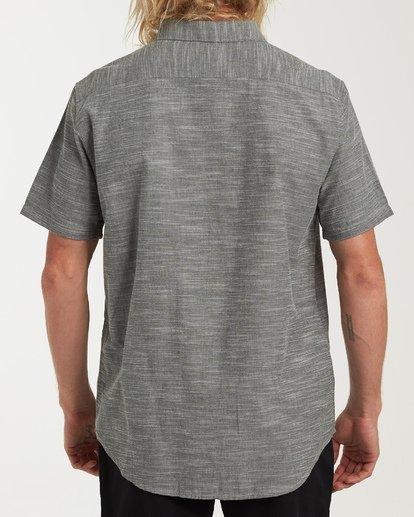 2 All Day Short Sleeve Shirt Brown M500TBAL Billabong