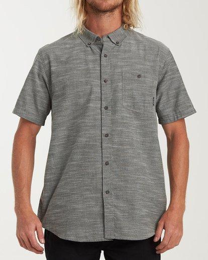 0 All Day Short Sleeve Shirt Brown M500TBAL Billabong