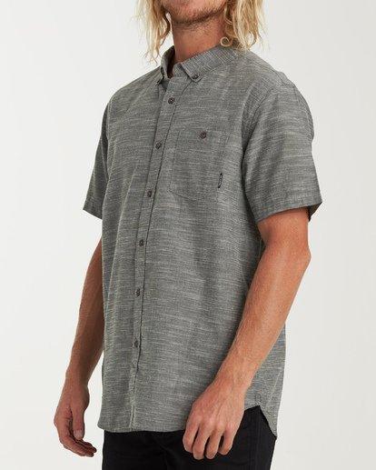 1 All Day Short Sleeve Shirt Brown M500TBAL Billabong