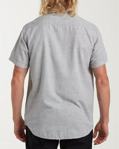 2 All Day Short Sleeve Shirt Grey M500TBAL Billabong