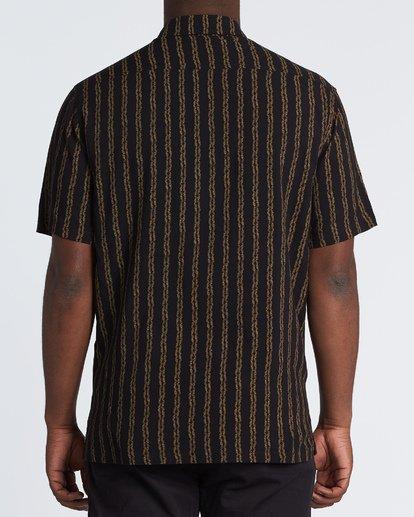 2 Tucker Vert Short Sleeve Shirt Black M501WBTR Billabong