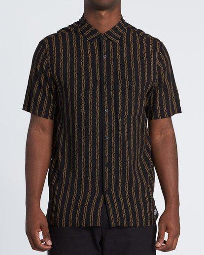 0 Tucker Vert Short Sleeve Shirt Black M501WBTR Billabong