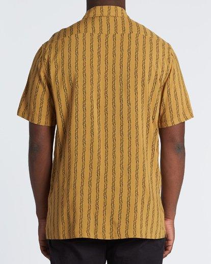 2 Tucker Vert Short Sleeve Shirt Beige M501WBTR Billabong