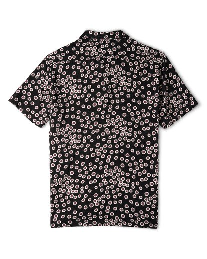 4 Sundays Daisy Short Sleeve Shirt Black M502WBSR Billabong