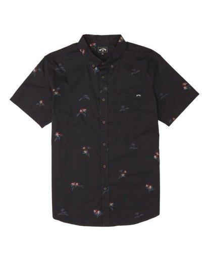 3 Sundays Mini Short Sleeve Shirt Black M5031BSM Billabong
