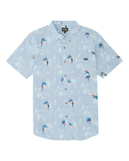3 Sundays Mini Short Sleeve Shirt Blue M5031BSM Billabong