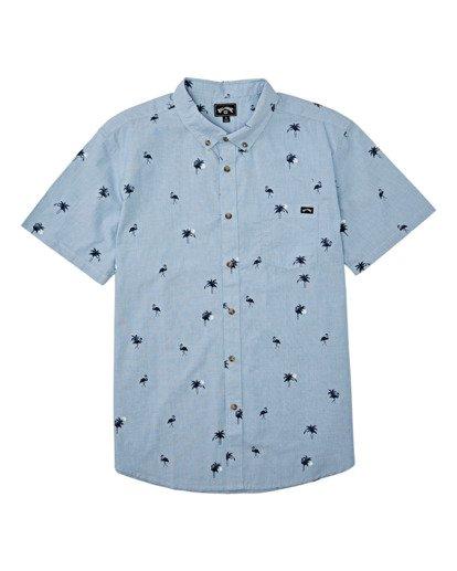 3 Sundays Mini Short Sleeve Shirt Brown M5031BSM Billabong
