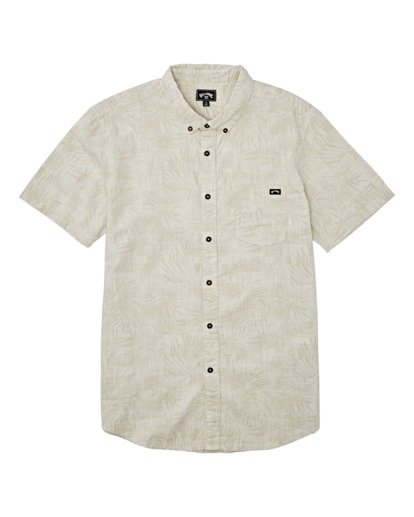 3 Sundays Mini Short Sleeve Shirt Beige M5031BSM Billabong