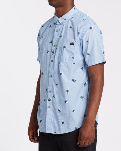 1 Sundays Mini Short Sleeve Shirt Brown M5031BSM Billabong
