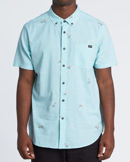 0 Sundays Mini Short Sleeve Shirt Black M5031BSM Billabong