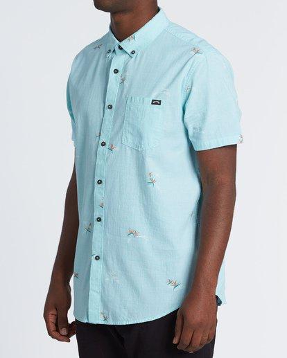 1 Sundays Mini Short Sleeve Shirt Black M5031BSM Billabong