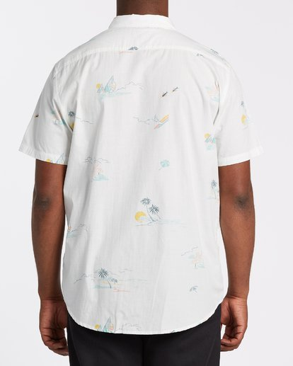 2 Sundays Mini Short Sleeve Shirt White M5031BSM Billabong