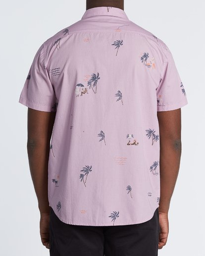 2 Sundays Mini Short Sleeve Shirt Pink M5031BSM Billabong