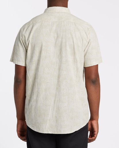 2 Sundays Mini Short Sleeve Shirt Beige M5031BSM Billabong