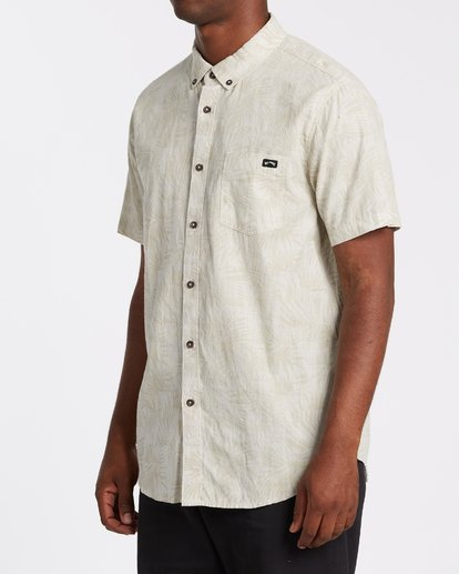1 Sundays Mini Short Sleeve Shirt Beige M5031BSM Billabong