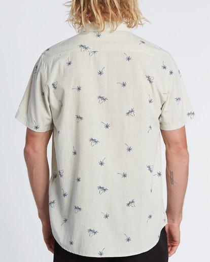 2 Sundays Mini Short Sleeve Shirt Beige M5031BSM Billabong