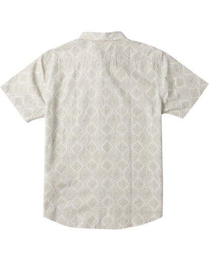 1 Sundays Mini Short Sleeve Shirt White M5033BSM Billabong