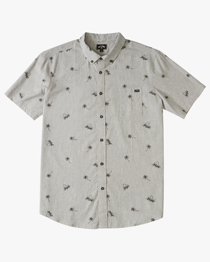 4 Sundays Mini Short Sleeve Shirt Grey M5033BSM Billabong