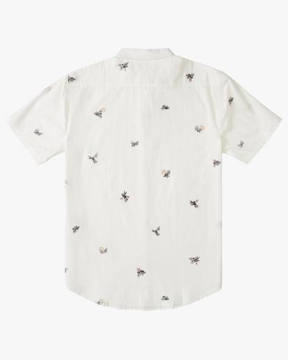 5 Sundays Mini Short Sleeve Shirt White M5033BSM Billabong