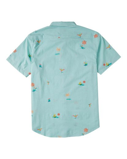 5 Sundays Mini Short Sleeve Shirt Multicolor M5033BSM Billabong