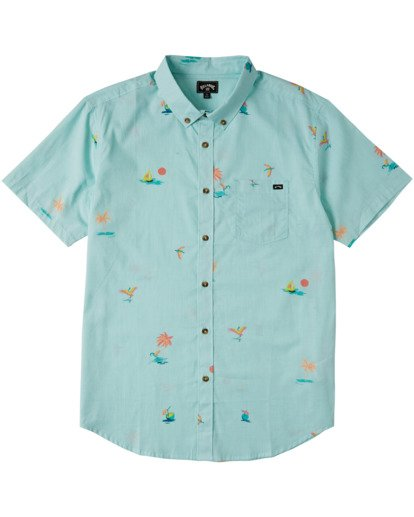4 Sundays Mini Short Sleeve Shirt Multicolor M5033BSM Billabong