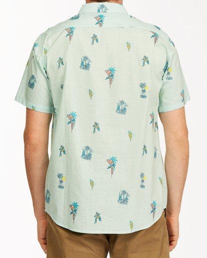 2 Sundays Mini Short Sleeve Shirt Green M5033BSM Billabong