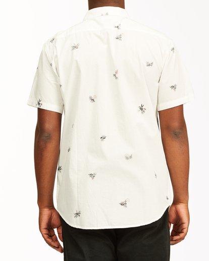 2 Sundays Mini Short Sleeve Shirt White M5033BSM Billabong