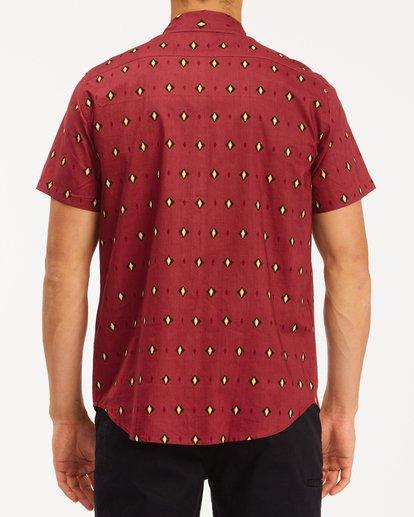2 Sundays Mini Short Sleeve Shirt Red M5033BSM Billabong