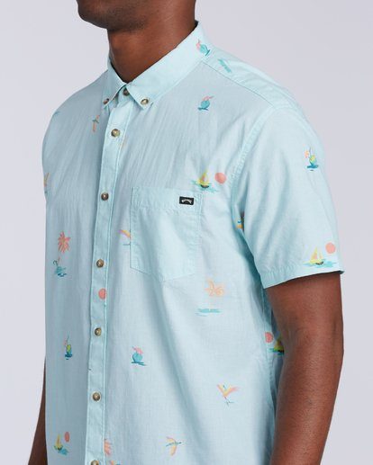 2 Sundays Mini Short Sleeve Shirt Multicolor M5033BSM Billabong