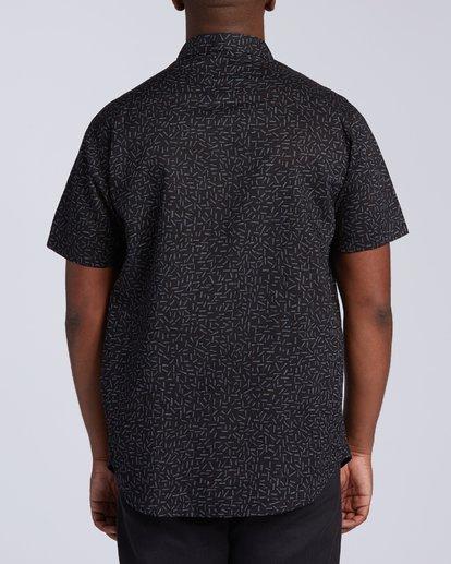 3 Sundays Mini Short Sleeve Shirt Multicolor M5033BSM Billabong